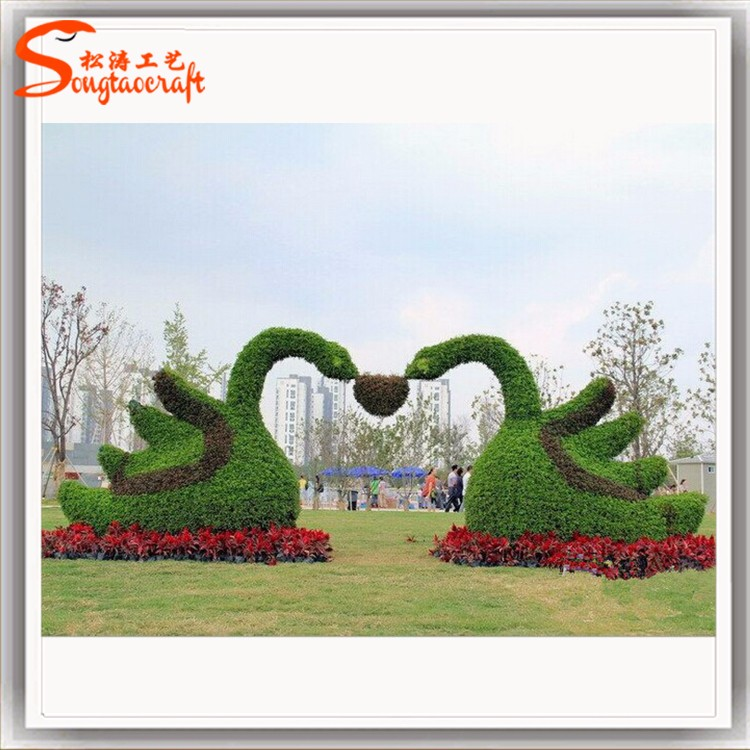 仿真绿雕造景,节庆景观的首选.jpg