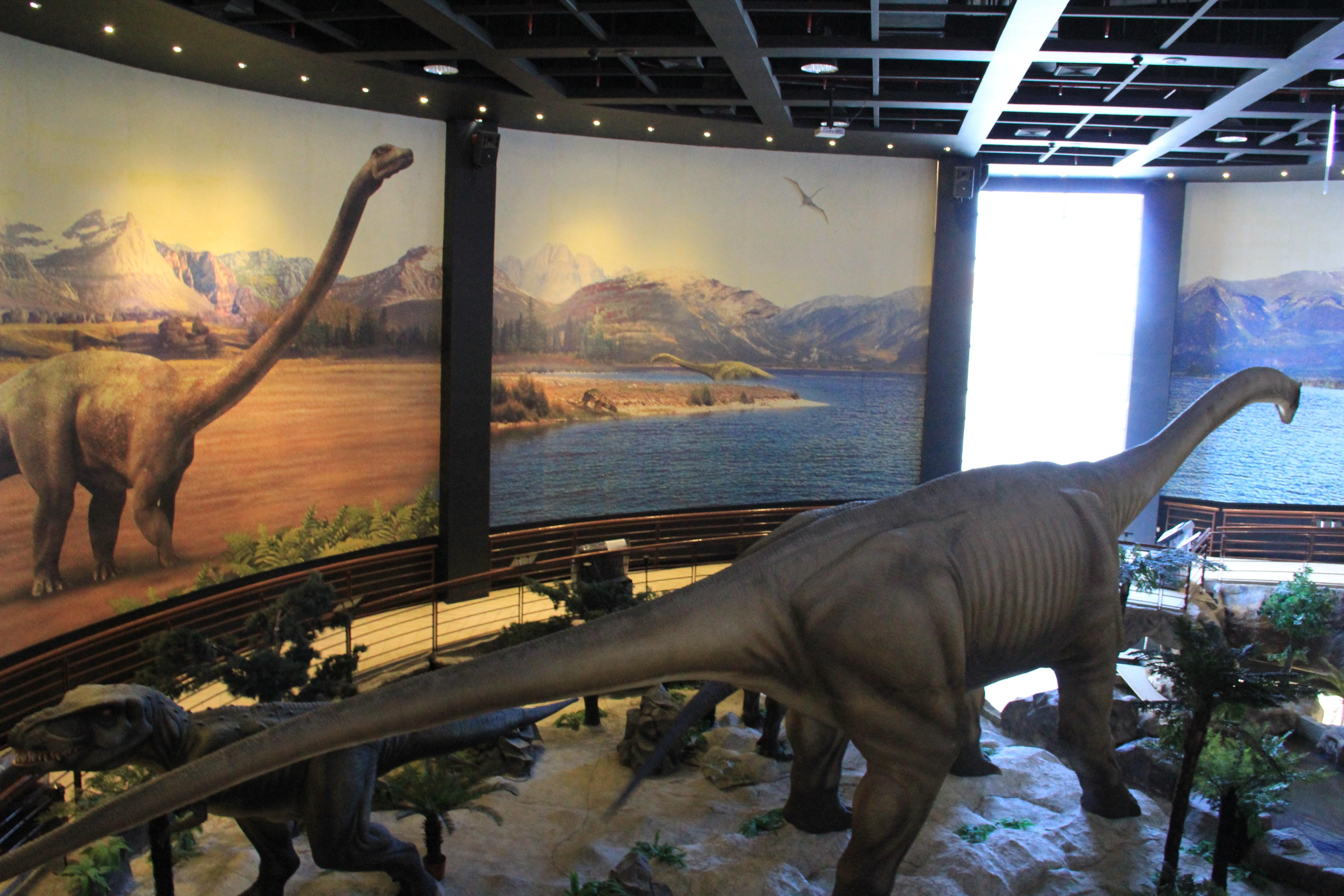 泰国曼谷恐龙博物馆工程——松涛园林景观工程制作公司