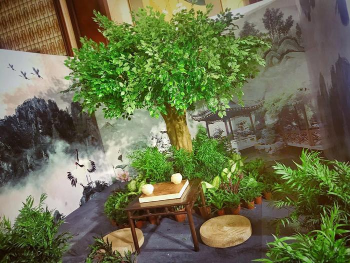 最美的仿真榕树是如何选材与设计搭配的