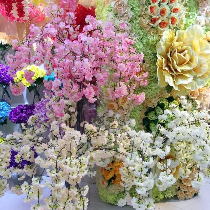 仿真花艺术插花,为生活增添光彩