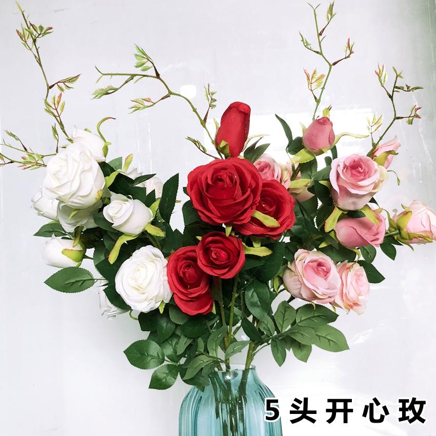 广州仿真花玫瑰批发多少钱