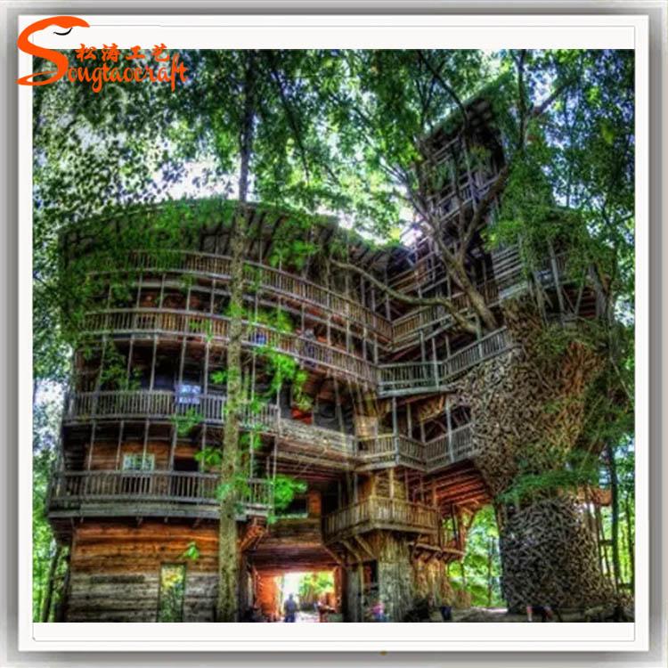 树屋是怎么建造的