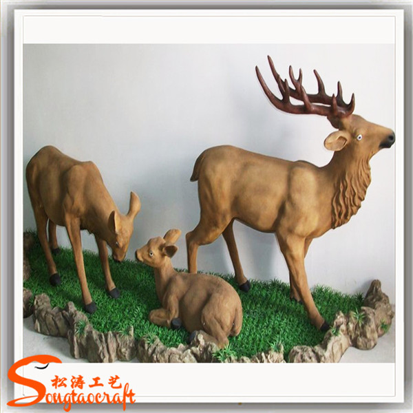 触动灵魂的仿真动物雕塑,太美了
