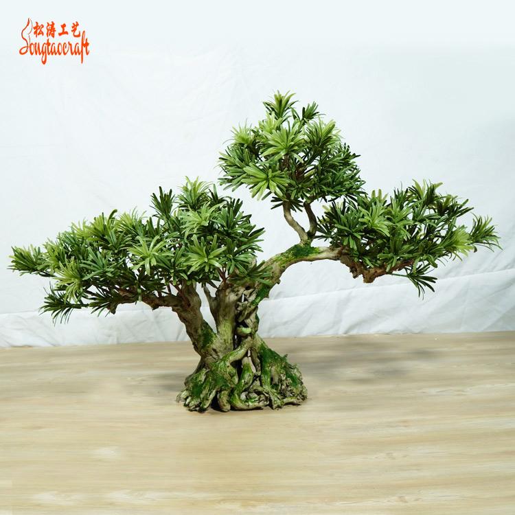 四季如春仿真松树非常适合室内装饰