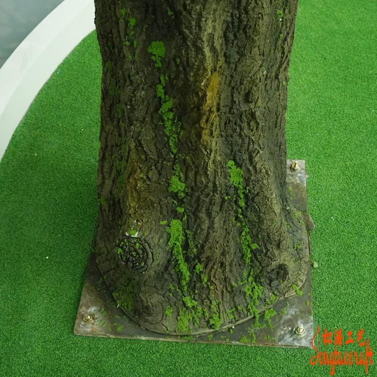 仿真植物厂家制作仿真树会用到哪些制作方法?